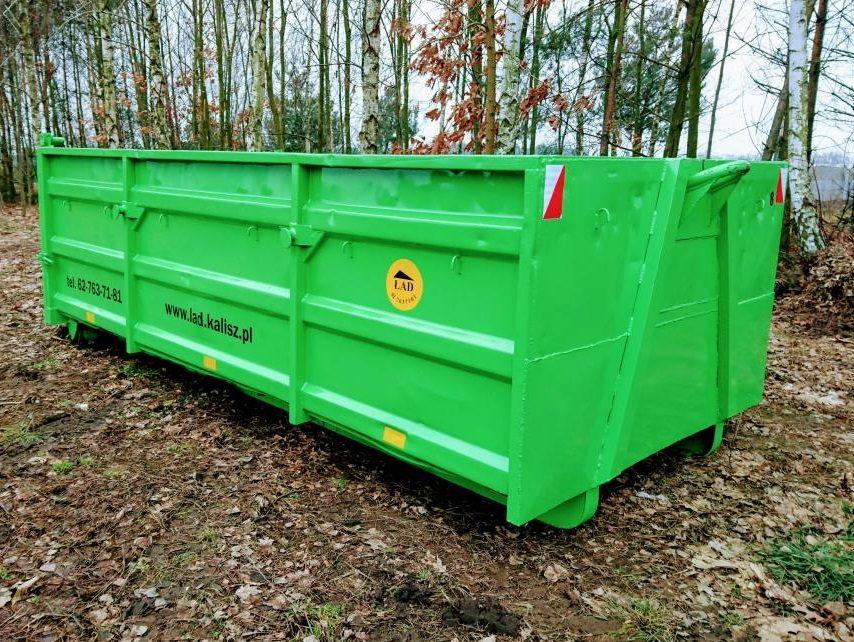Kontener na śmieci wolnostojący