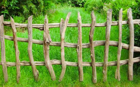 drewniane ogrodzenie
