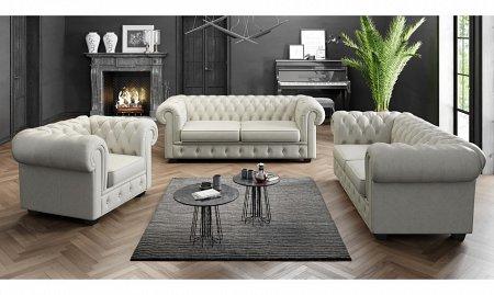 biała kanapa i fotele