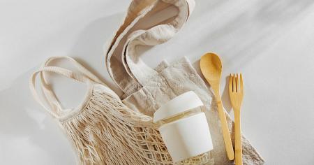 torby ekologiczne na stole