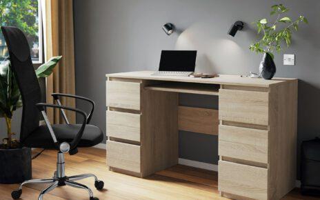 Uniwersalne biurko dla studenta