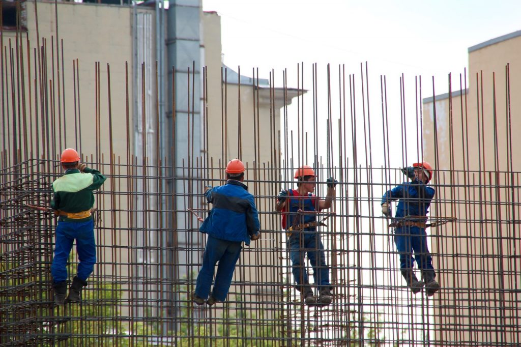Ekipa budowlańców