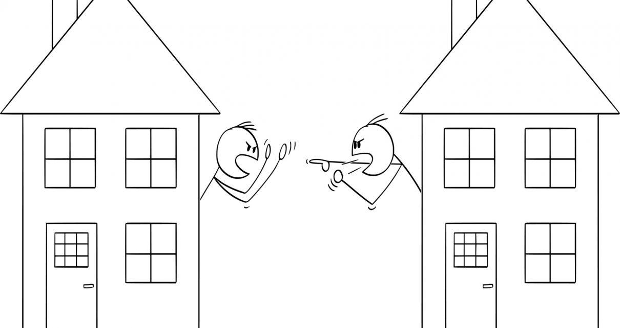 Spór sąsiedzki