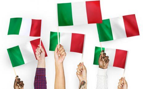 Włoskie flagi