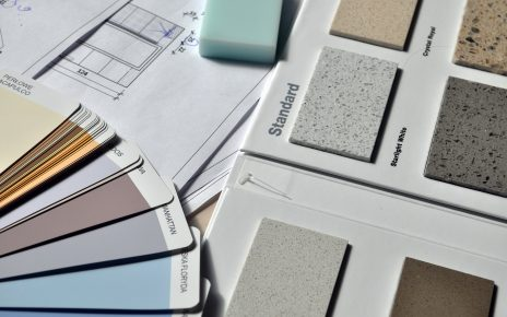 Próbki kolorów farb