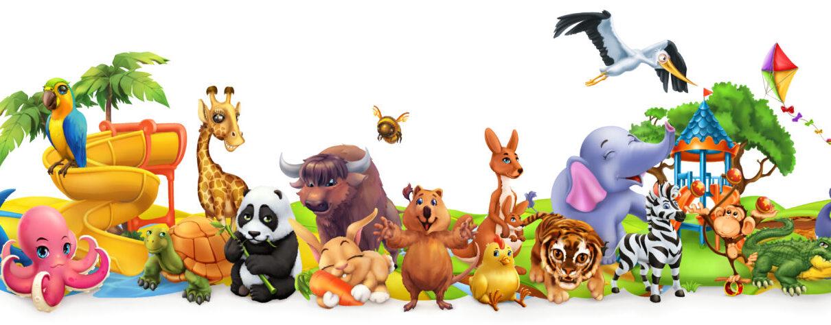 zwierzęta z kreskówek