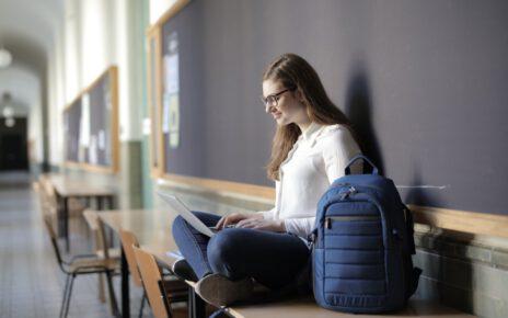 Studentka niemieckiej uczelni