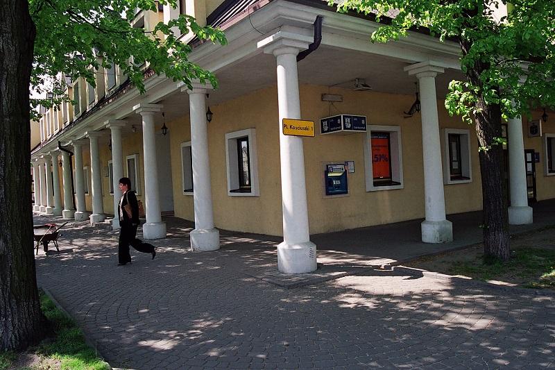 Plac Kościuszki.