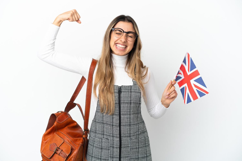 Kobieta która dostała się na studia w Anglii